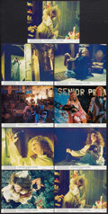 """Movie Posters:Horror, Carrie (United Artists, 1976). Mini Lobby Card Set of 8 and Lobby Card (8"""" X 10""""). Horror.. ... (Total: 9 Items)"""