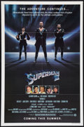 "Movie Posters:Action, Superman II (Warner Brothers, 1981). One Sheet (27"" X 41"") Advance. Action.. ..."