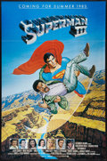 """Movie Posters:Action, Superman III (Warner Brothers, 1983). One Sheet (27"""" X 41"""") Advance. Action.. ..."""