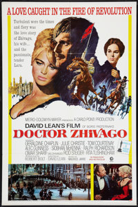 "Doctor Zhivago (MGM, 1966). Academy Award One Sheet (27"" X 41""). Drama"