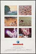 """Movie Posters:Rock and Roll, Woodstock (Warner Brothers, 1970). One Sheet (27"""" X 41""""). Rock and Roll.. ..."""