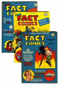 "Golden Age (1938-1955):Non-Fiction, Real Fact Comics #7, 10, and 11 Davis Crippen (""D"" Copy) pedigreeGroup (DC, 1947).... (Total: 3 Comic Books)"