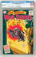 Golden Age (1938-1955):War, Star Spangled War Stories #45 (DC, 1956) CGC FN+ 6.5 Cream tooff-white pages....