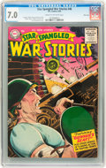 Golden Age (1938-1955):War, Star Spangled War Stories #46 River City pedigree (DC, 1956) CGC FN/VF 7.0 Cream to off-white pages....
