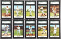 Baseball Cards:Sets, 1961 Golden Press Baseball High Grade Complete Set (33)....