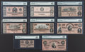 Confederate Notes:1864 Issues, T65 - T72 High Grade 1864 Type Collection.. ... (Total: 8 notes)