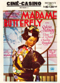 "Movie Posters:Drama, Madame Butterfly (Paramount, 1932). Pre-War Belgian (24"" X 33"")....."