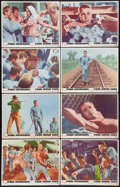 "Movie Posters:Drama, Cool Hand Luke (Warner Brothers, 1967). Lobby Card Set of 8 (11"" X14""). Drama.. ... (Total: 8 Items)"