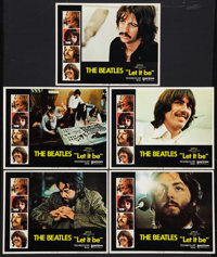 """Let It Be (United Artists, 1970). Lobby Cards (5) (11"""" X 14""""). Rock and Roll. ... (Total: 5 Items)"""