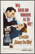 """Movie Posters:Drama, Trouble Along the Way (Warner Brothers, 1953). One Sheet (27"""" X 41""""). Drama.. ..."""
