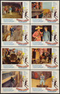 "Movie Posters:Comedy, Harold Lloyd's World of Comedy (Continental, 1962). Lobby Card Set of 8 (11"" X 14""). Comedy.. ... (Total: 8 Items)"