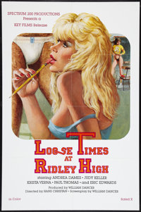 "Loose Times at Ridley High Lot (Key Pictures, 1984). One Sheets (2) (27"" X 41""). Adult. ... (Total: 2 Items)"