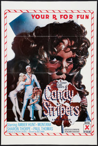 """Candy Stripers Lot (Pacific Coast, 1978). One Sheets (2) (27"""" X 41""""). Adult. ... (Total: 2 Items)"""