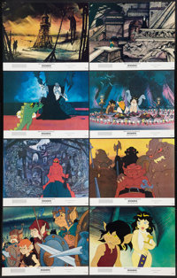 """Wizards (20th Century Fox, 1977). Lobby Card Set of 8 (11"""" X 14""""). Animated. ... (Total: 8 Items)"""
