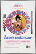 "Movie Posters:Comedy, Alice's Restaurant (United Artists, 1969). International One Sheet(27"" X 41"") and Lobby Card (11"" X 14""). Comedy.. ... (Total: 2Items)"