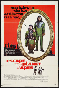 """Escape from the Planet of the Apes (20th Century Fox, 1971). One Sheet (27"""" X 41""""). Science Fiction"""