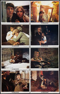 "Movie Posters:Crime, Straw Dogs (ABC, 1972). Lobby Card Set of 8 (11"" X 14""). Crime..... (Total: 8 Items)"