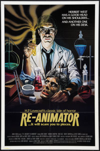 "Re-Animator (Empire, 1985). One Sheet (27"" X 41""). Horror"