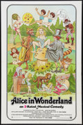 "Movie Posters:Sexploitation, Alice in Wonderland (General National, 1976). One Sheet (27"" X41""). X-Rated Version. Sexploitation.. ..."