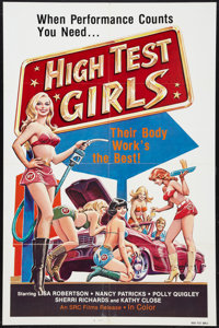 "High Test Girls (SRC Films, 1983). One Sheet (27"" X 41""). Sexploitation"