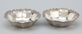 Silver Holloware, American:Bowls, A PAIR OF AMERICAN SILVER BOWLS . Whiting Manufacturing Company,New York, New York, 20th century. Marks: (griffin with W), ...(Total: 2 Items)