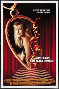 """Twin Peaks: Fire Walk with Me (New Line, 1992). One Sheet (27"""" X 40"""") SS. Mystery"""