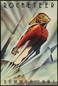 "The Rocketeer (Touchstone, 1991). One Sheet (27"" X 40"") DS Advance. Action"