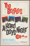 "Movie Posters:Rock and Roll, A Hard Day's Night (United Artists, 1964). One Sheet (27"" X 41""). Rock and Roll.. ..."