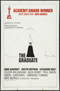 "Movie Posters:Comedy, The Graduate (Embassy, 1968). One Sheet (27"" X 41"") Academy Awards B Style. Comedy.. ..."