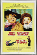 "Movie Posters:Western, Rooster Cogburn (Universal, 1975). One Sheet (27"" X 41""). Western.. ..."