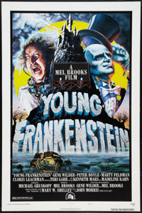 """Young Frankenstein (20th Century Fox, 1974). One Sheet (27"""" X 41""""). Comedy"""