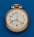 Timepieces:Pocket (post 1900), Waltham (Swiss) 25 Jewel, 16 Size. ...