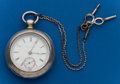 Timepieces:Pocket (pre 1900) , Illinois, 18 Size, 6 oz. Coin Silver Key Wind. ...