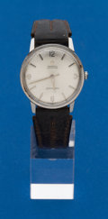 Timepieces:Wristwatch, Omega, Steel Automatic Seamaster. ...