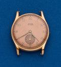 Timepieces:Wristwatch, Swiss, 18k, 15 Jewel, Rose Gold Wristwatch. ...