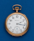 Timepieces:Pocket (post 1900), Hampden, 12 Size, 17 Jewel. ...