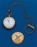 Timepieces:Pocket (post 1900), Swiss, 12 Size, Eagle Case. ...
