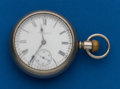 Timepieces:Pocket (post 1900), Elgin, 18 Size, 17 Jewel. ...