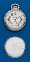 Timepieces:Pocket (post 1900), Arnex, 17 Jewel, 16 Size Locomotive Case. ...