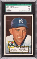 Baseball Cards:Singles (1950-1959), 1952 Topps Tom Morgan #331 SGC 84 NM 7....