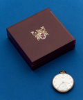 Timepieces:Pocket (post 1900), Elgin, 21 Jewel, 10 Size, Original Box. ...