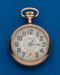 Timepieces:Pocket (post 1900), Elgin, 18 Size, 15 Jewel. ...