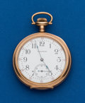 Timepieces:Pocket (post 1900), Waltham, 15 Jewel, 12 Size. ...