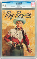 Golden Age (1938-1955):Western, Four Color #160 Roy Rogers (Dell, 1947) CGC NM+ 9.6 White pages....
