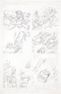 Original Comic Art:Panel Pages, Jack Kirby Super Powers #5 Batman page 17 Pencils OriginalArt (DC, 1986)....