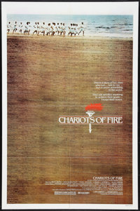 """Chariots of Fire (Warner Brothers, 1981). One Sheet (27"""" X 41""""). Drama"""