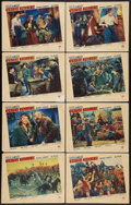 "Movie Posters:Western, Union Pacific (Paramount, 1939). Lobby Card Set of 8 (11"" X 14""). Western.. ... (Total: 8 Items)"