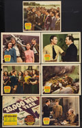 "20,000 Men a Year (20th Century Fox, 1939). Title Lobby Card and Lobby Cards (6) (11"" X 14""). Action. ... (Tot..."