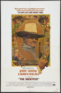"""Movie Posters:Western, The Shootist (Paramount, 1976). One Sheet (27"""" X 41""""). Western.. ..."""