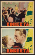 """Movie Posters:Musical, Roberta (RKO, 1935). Lobby Cards (2) (11"""" X 14""""). Musical.. ... (Total: 2 Items)"""